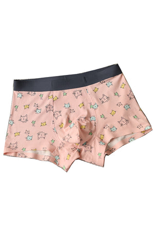 Cats Modal Couple Underwear-His & Her Matching Apparel-Pinklouds