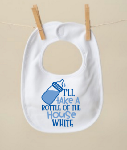 House White Bib