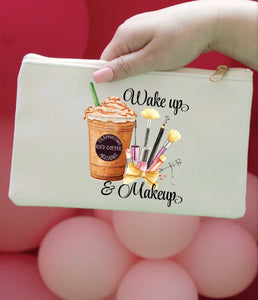 Wake Up Make Up Pouch