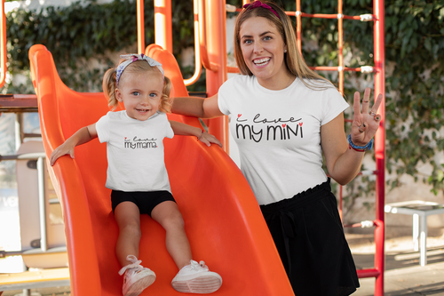 Mommy and Me Shirts/Mini & Mama