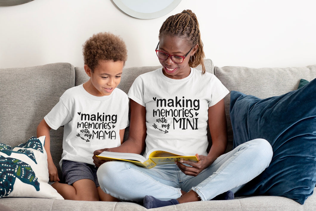 Mommy and Me Memories Shirt Set
