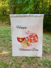 Load image into Gallery viewer, Valentine's Day Garden Flag