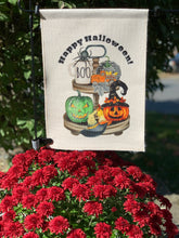 Load image into Gallery viewer, Boo Halloween Garden Flag