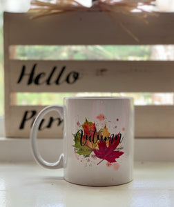 Autumn Colors Ceramic Mug