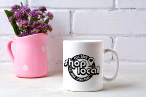 Shop Local Ceramic Mug