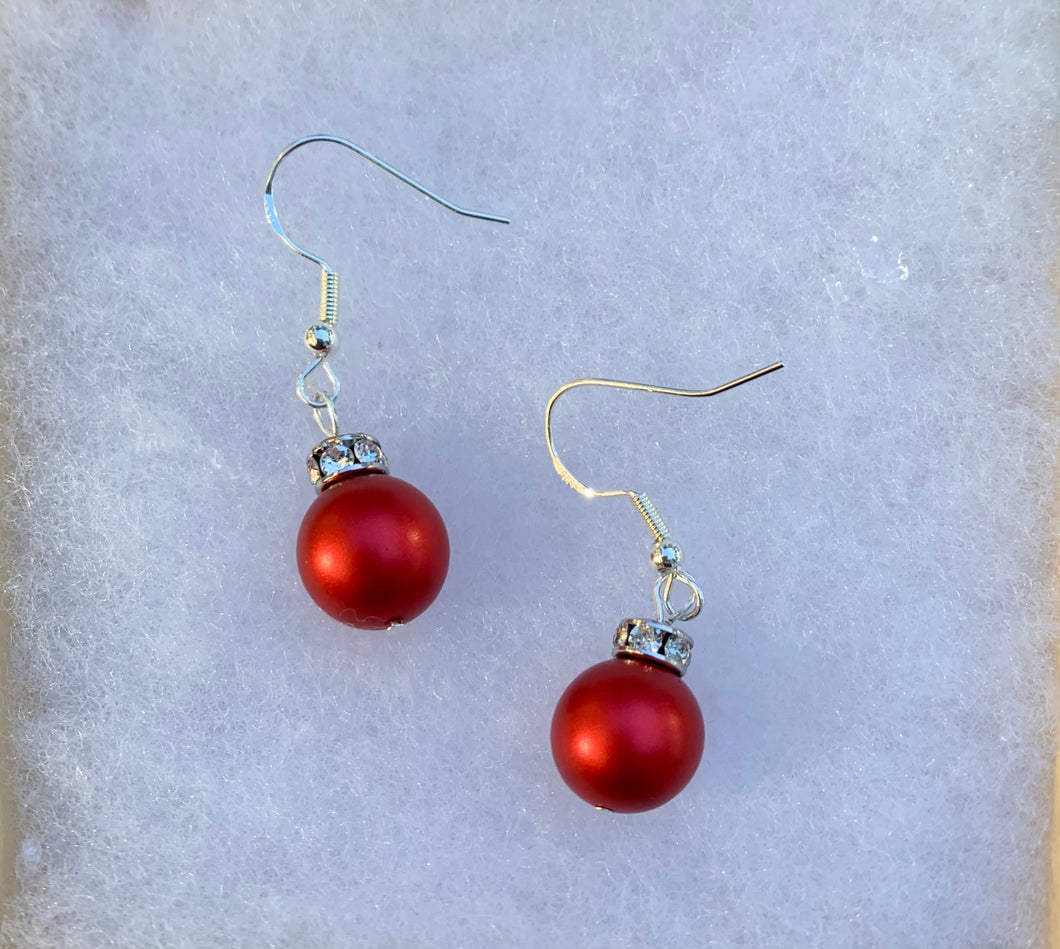 Elegant Ball Earrings