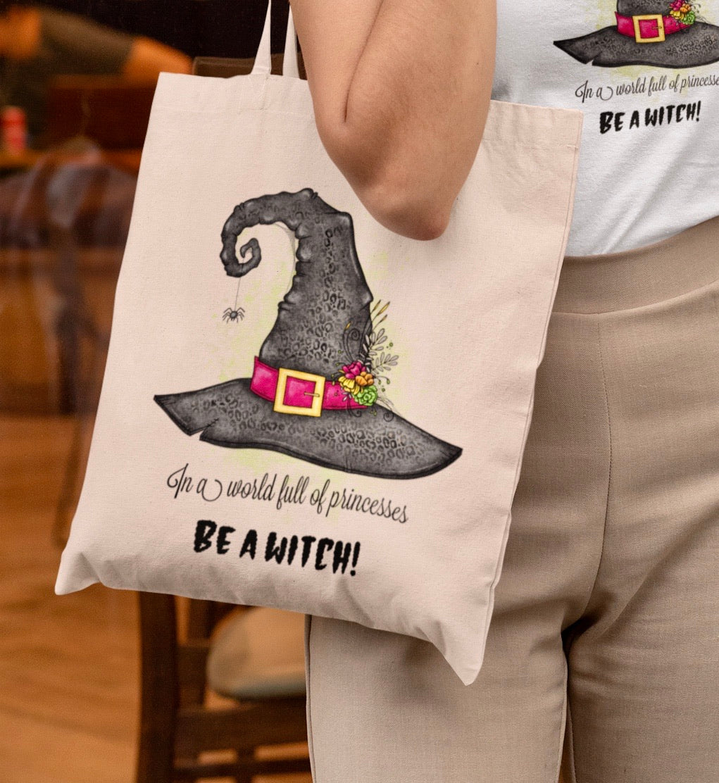Be A Witch Tote Bag