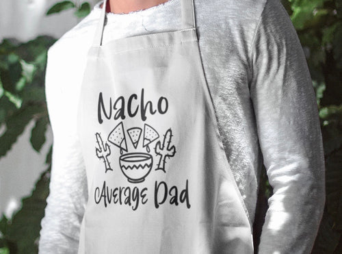 Nacho Average Dad Apron
