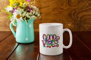 Good Vibes Ceramic Mug