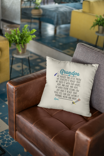 Grandpa Personalized Pillow