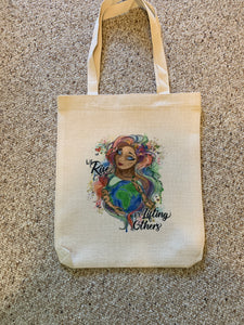We Rise Tote Bag