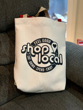 Load image into Gallery viewer, Shop Local Artisan Tote Bag