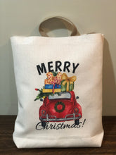 Load image into Gallery viewer, VW Christmas Retro Tote Bag