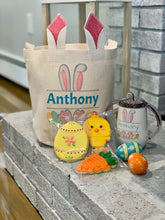 Load image into Gallery viewer, Childs Personalized Easter Bunny Gift Bag