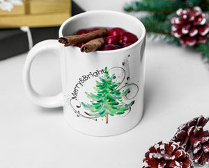 Merry & Bright Ceramic Mug