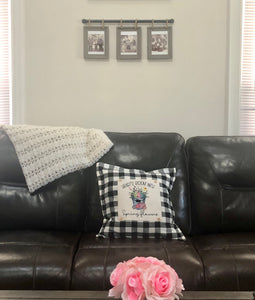 Decorative Pillow With Interchangeable Panel