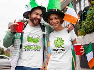 I'm Here For Green Beer Shirt