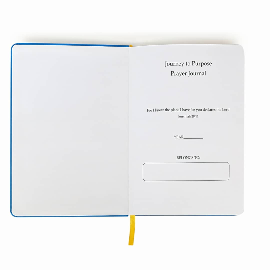 Journey 2 Purpose Prayer Journal (Blue)