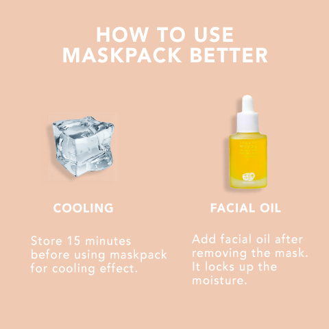 HOW TO USE SHEETMASK