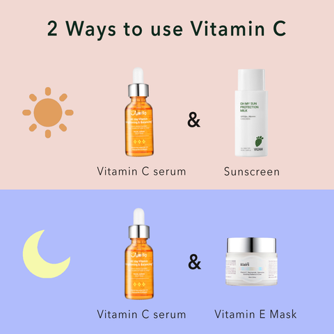 how to use vitamin C