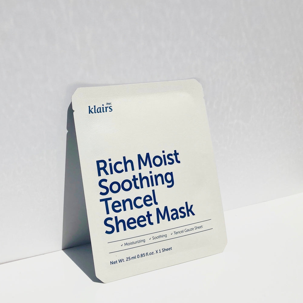 [Airy and moisturising] Rich Moist Soothing Tencel Sheet Mask