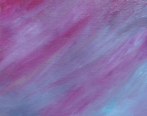 'Wildberry Sherbet' by AnNaHem - Abstract Oil Painting