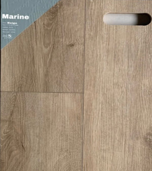 "7.1""48"" Vinyl Tile - Marine Beige $2.24 Square Feet - Low Price Floor"