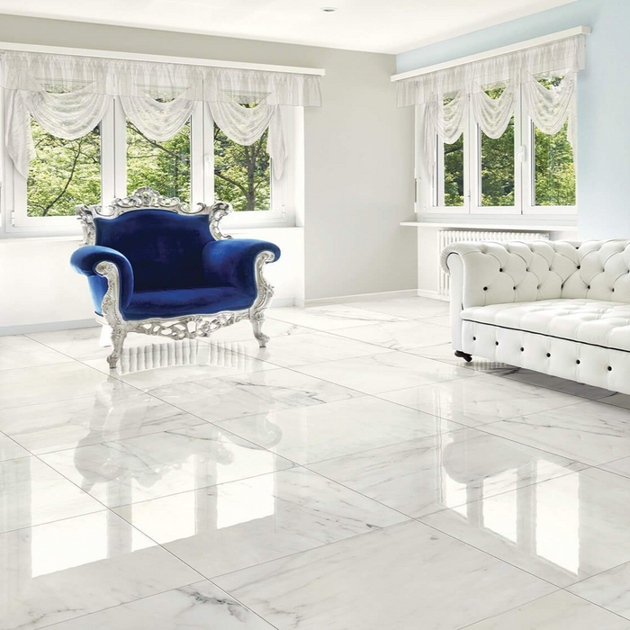 "24""x48"" Porcelain Tile - Roman Statuario $2.49 Square Feet"