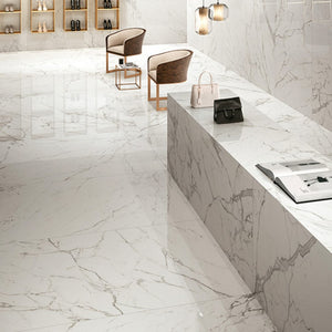 "24""x24"" Porcelain Tile - Roman Statuario $1.59 Square Feet - Low Price Floor"