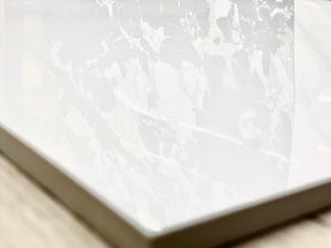 "24""x24"" Polished Himalaya White $1.19 Square Feet - Low Price Floor"