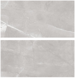 "24x48"" Porcelain Tile - Armani Steel Gray Polish $3.49 sq ft"