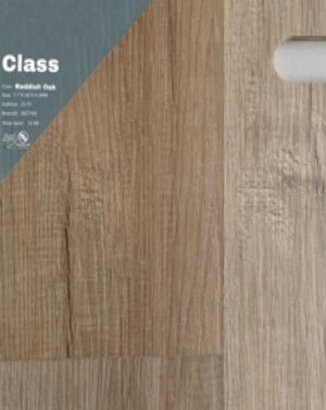 "7.1""48"" Vinyl Tile - Class Reddish Oak $2.39 Square Feet - Low Price Floor"