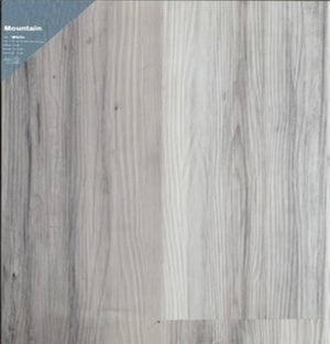 "7""48"" Vinyl Tile - Mountain White $1.99 Square Feet - Low Price Floor"