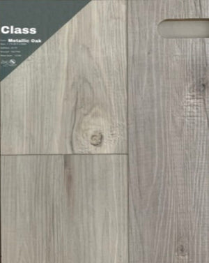 "7.1""48"" Vinyl Tile - Class Metallic Oak $2.39 Square Feet - Low Price Floor"