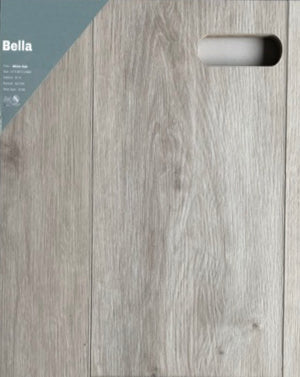 "9""60"" Vinyl Tile - Bella White Oak   $2.84 Square Feet - Low Price Floor"