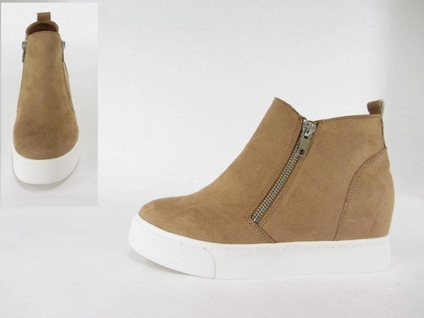 Taylor Sneaker-Taupe