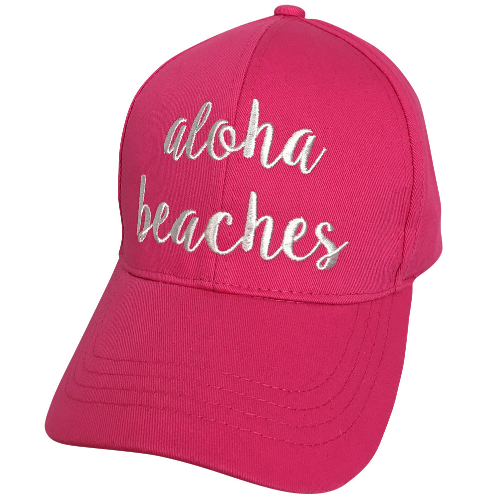 BA-2017 C.C Aloha Beach Hot Pink Cap