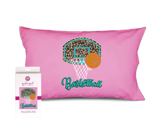 PC-Leopard Basketball Pillowcase