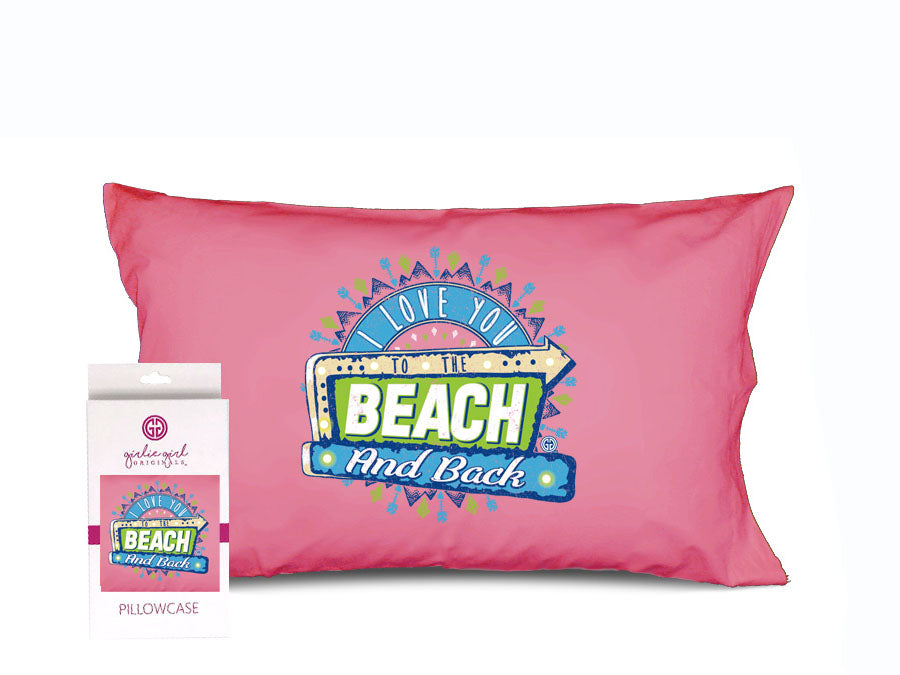 PC-Beach and Back Pillowcase