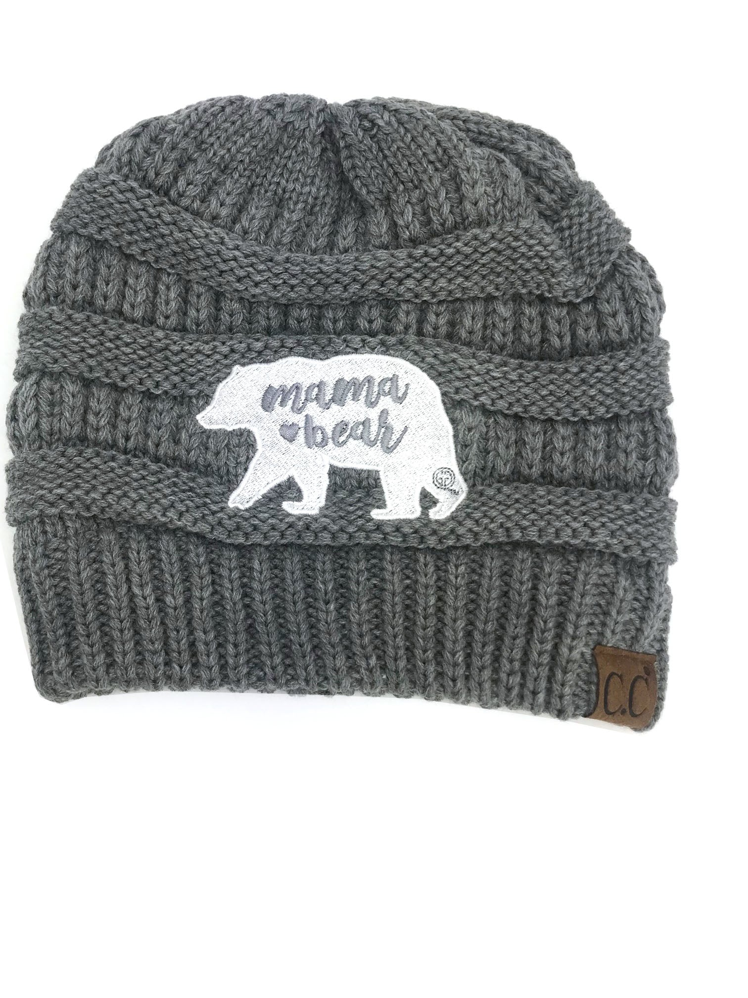 BEAR-20 LIGHT MELANGE GREY