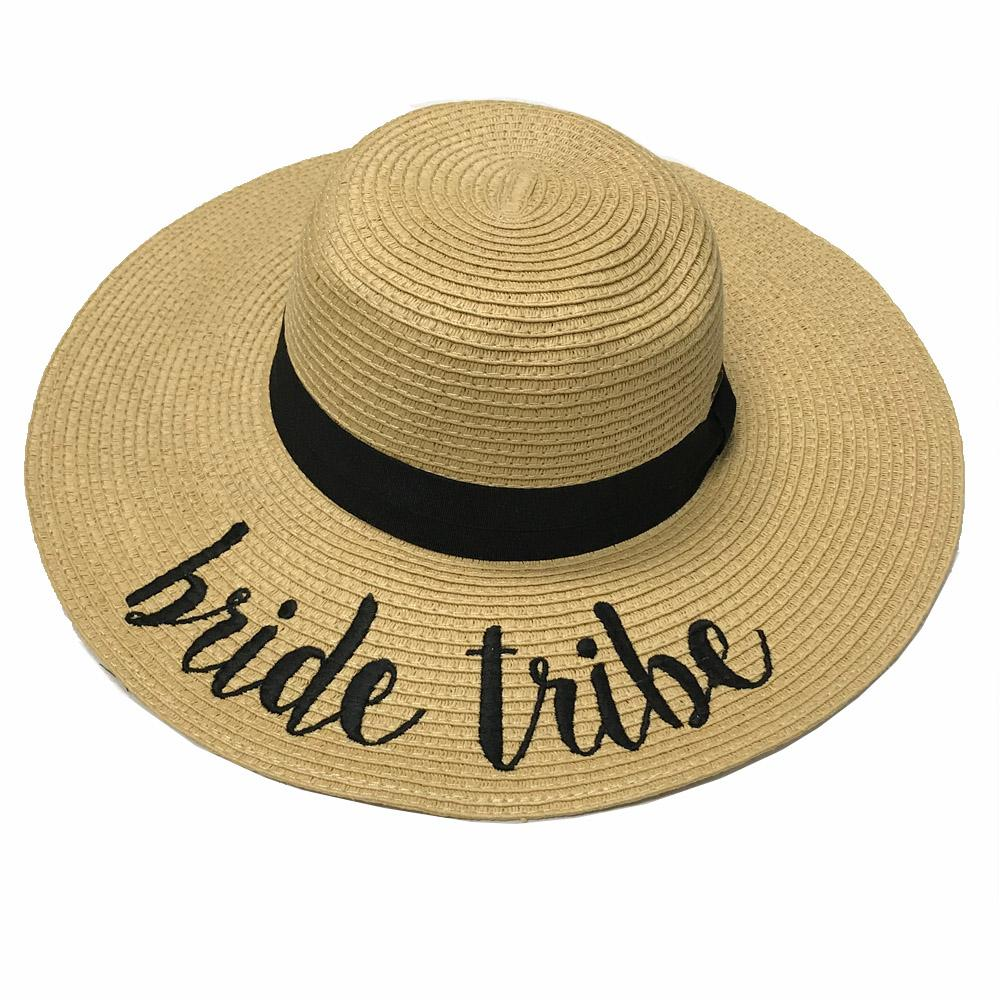 ST-2017 Bride Tribe Beach Hat