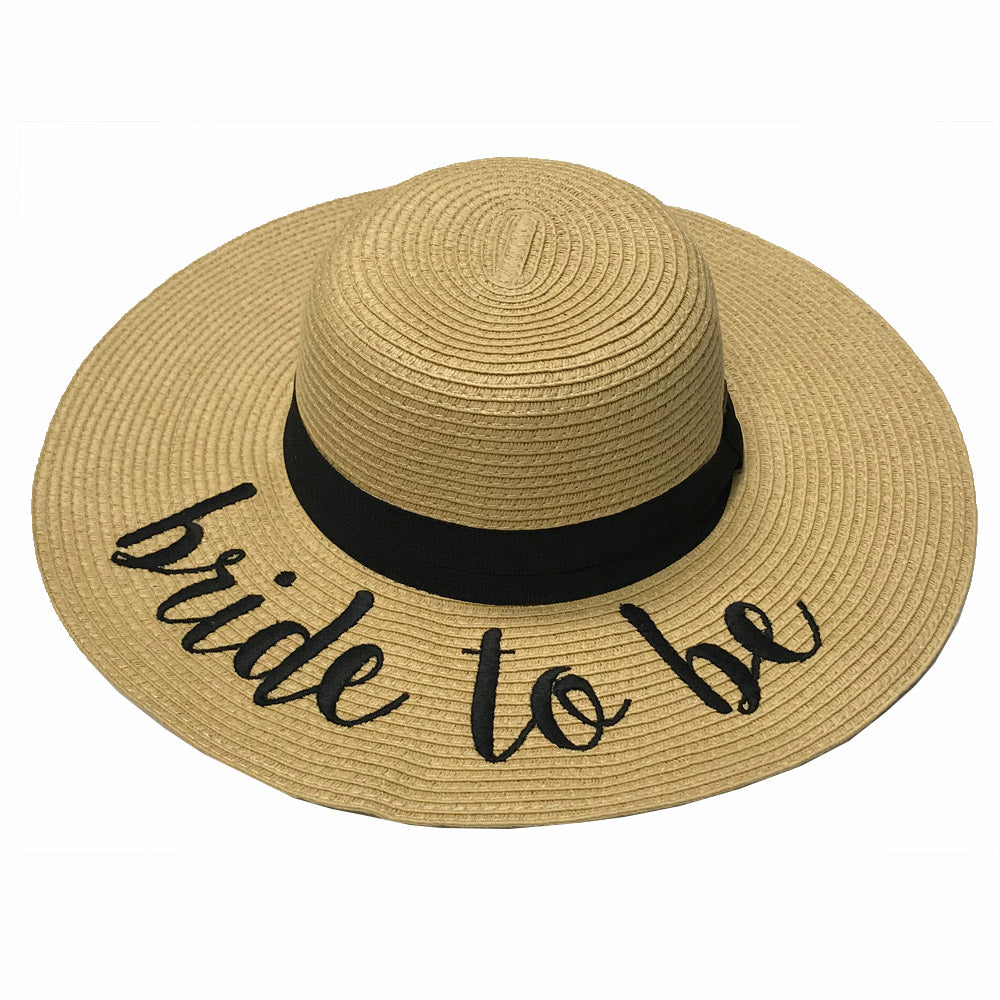 ST-2017 Bride to Be Beach Hat