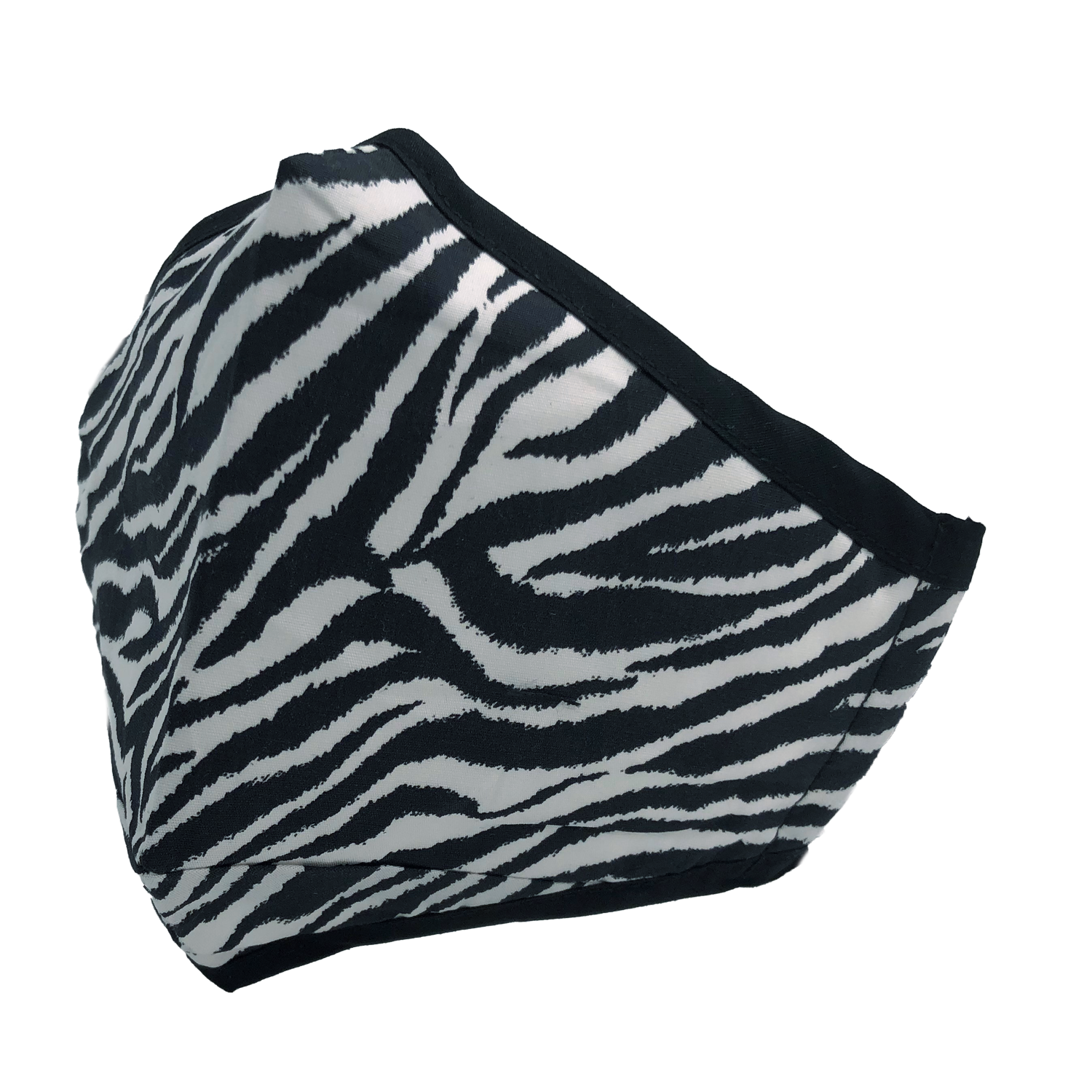 ADULT MASK ZEBRA