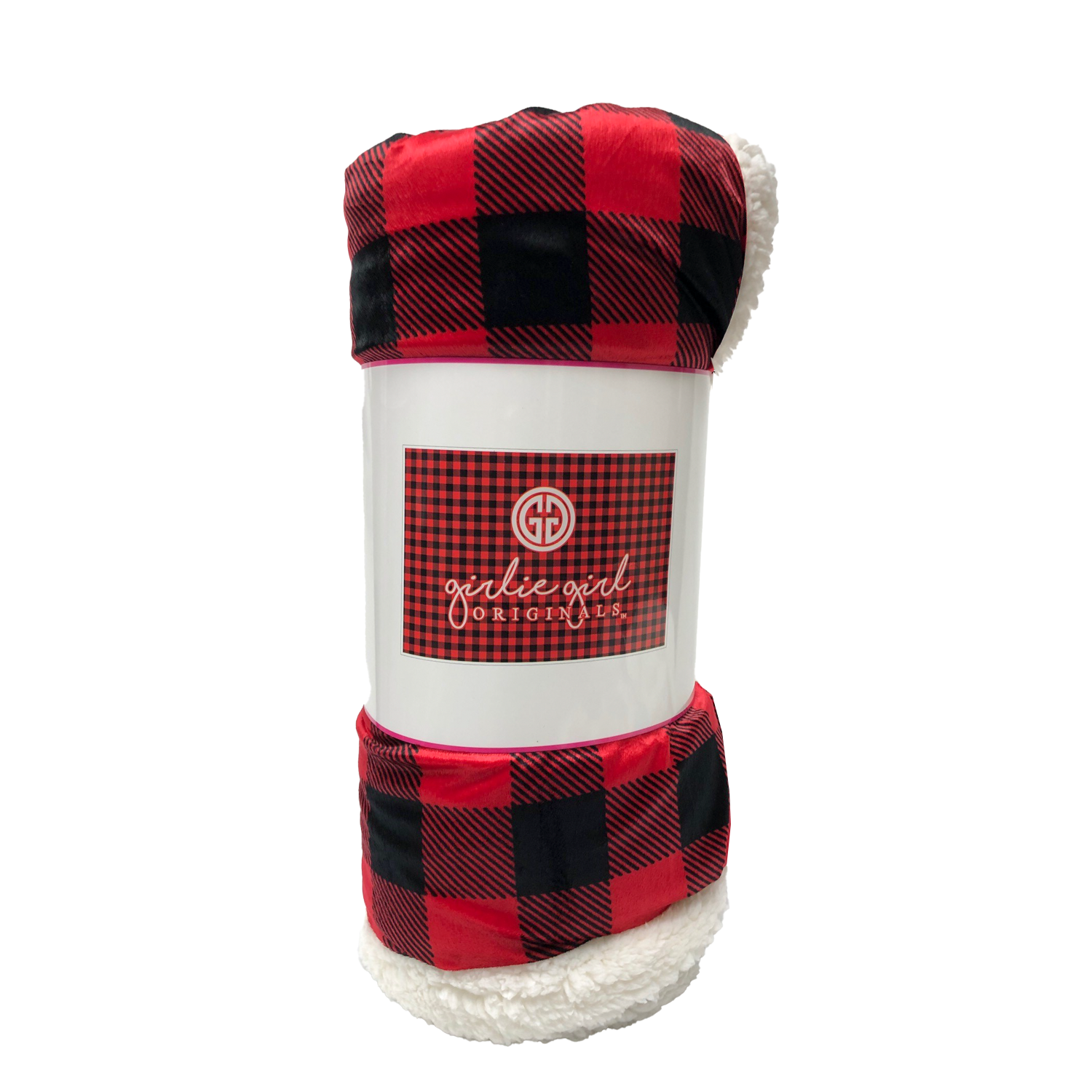 BK-3160 Buffalo Plaid Sherpa Blanket