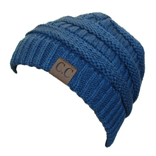 HAT-20A BEANIE DARK DENIM