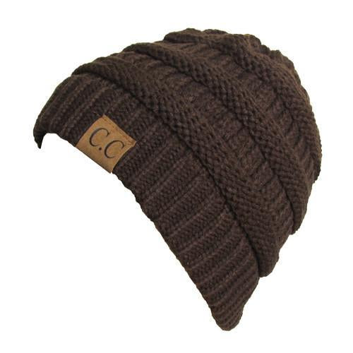 HAT-20A BEANIE BROWN