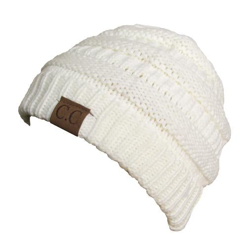 HAT-20A BEANIE IVORY