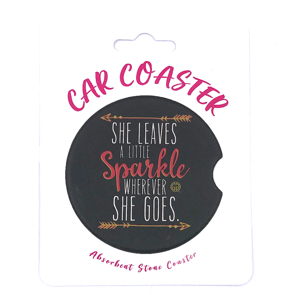 C12 - Car Coaster Sparkle