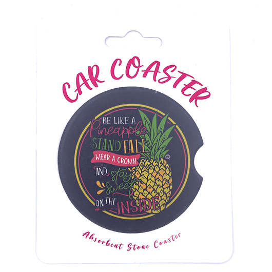 C15 - Car Coaster Pineapple