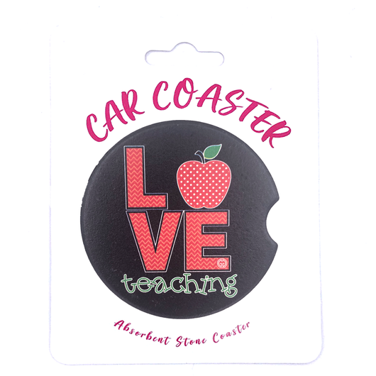 C17 - Car Coaster Love Teaching